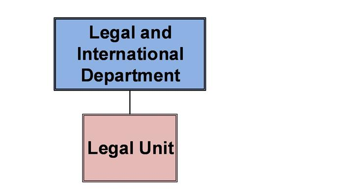 Legal and International Department